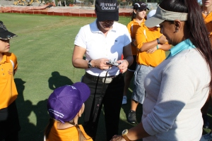 Cristie signing putter