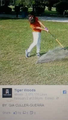 Gia on Tiger FB