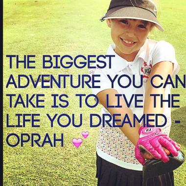 Gia Oprah Quote